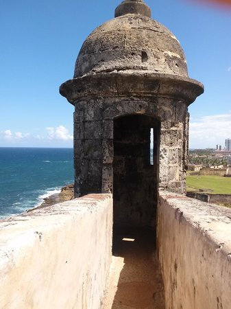 Castillo de San Cristobal: Observation tower