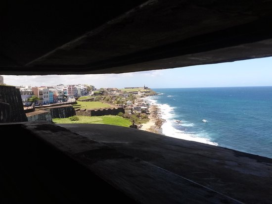 Castillo de San Cristobal: View from observation tower