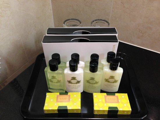 InterContinental Hotel Warsaw: EXCELLENT products!