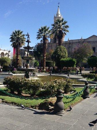 Casa Andina Premium Arequipa: plaza de armas