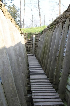 Memorial Museum Passchendaele 1917: New trench system