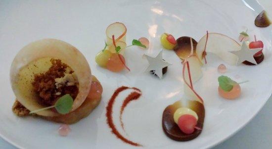 Schauenstein Schloss Hotel restaurant: dessert