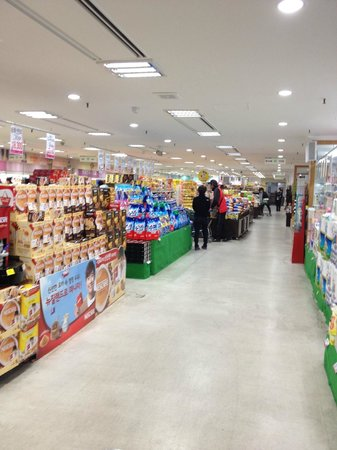 National Agricultural Cooperative Federation's agricultural products department store: 店内
