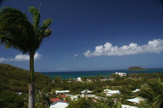 Caraibes Bonheur : vue de la chambre