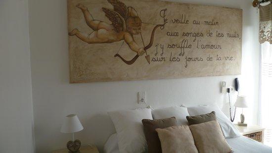 Hotel Le Mediterranee : chambre