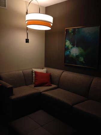 Hyatt Place Nashville Downtown : Comfortable sitting area
