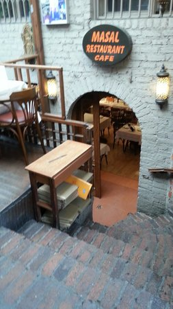 Masal Restaurant : The way In