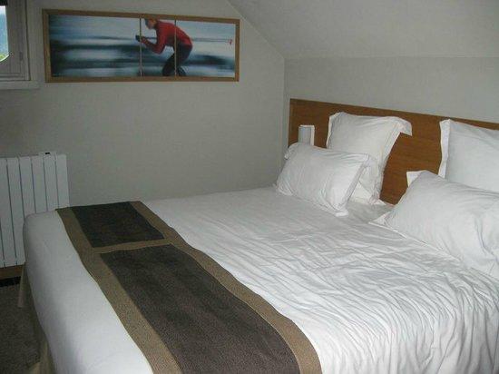 Le Morgane: chambre très confortable