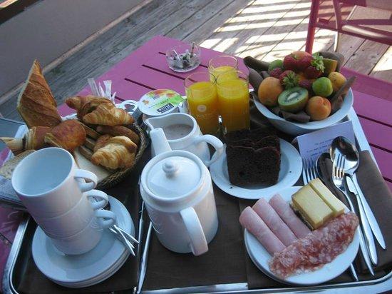 Le Morgane : petit déjeuner miam!