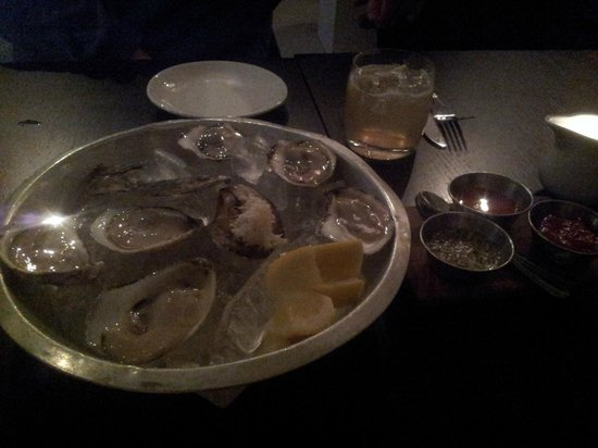 Richmond Station: oysters