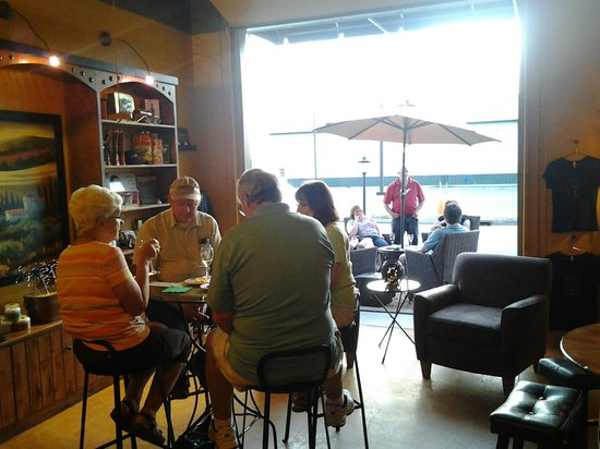 Post Town Winery: Enjoy our indoor/outdoor seating