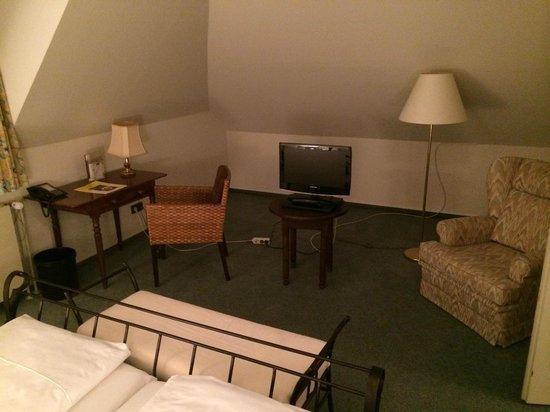 Duren's Posthotel: спальня