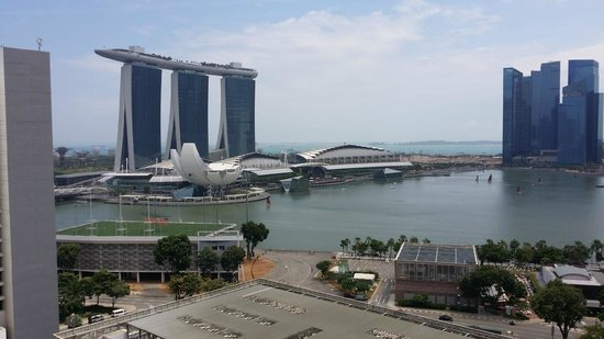 Marina Mandarin Singapore View Of Bay From Room
