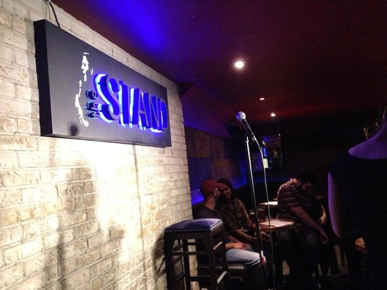 The Stand Comedy Club & Restaurant: Stand comedy stage