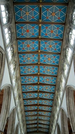 Holy Trinity Church: Ceiling of Nave