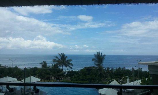 Sheraton Bali Kuta Resort: View dari balkon hotel