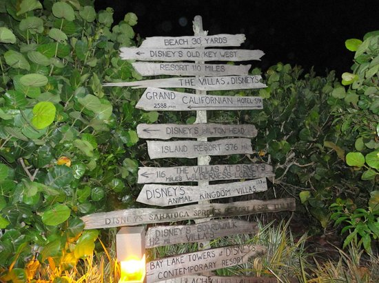 Disney's Vero Beach Resort : Distances to other resorts