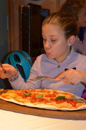 taverna messicana pizzeria: Pizza Fiore di Campo (Baby size)
