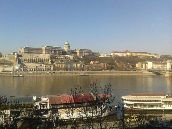 InterContinental Budapest: View from our room at the intercontinental