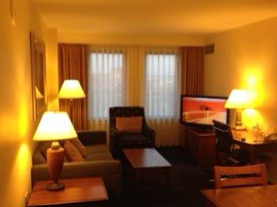 Residence Inn by Marriott Boston Harbor on Tudor Wharf: Living Room