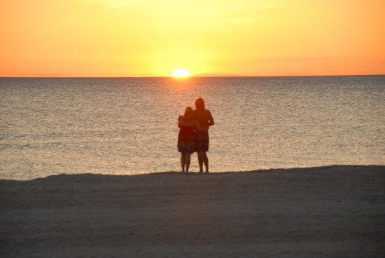 Belleair Beach Resort: Sun set