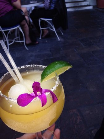 La Fogata Mexican Cuisine: Top shelf margarita. Be careful... Just one and done!