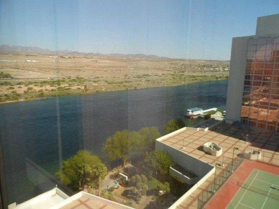 Aquarius Casino Resort: Vue de la Chambre sur le Colorado
