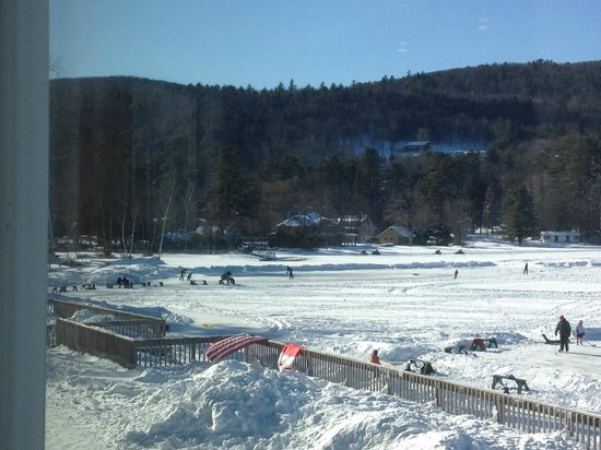 Lake Morey Resort : view from dining room