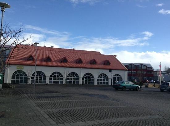 The Hafnarfjordur Centre of Culture and Fine Art: Culture Center shares building with Glo restaurant