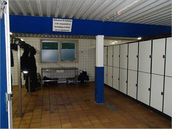 Dive-Inn de Kabbelaar: salle plongée