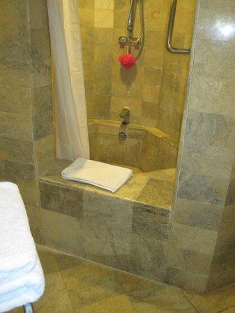 Sol Beach House Benoa Bali by Melia Hotels International: Hop skip and jump in shower