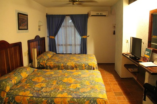 Eco-Hotel El Rey Del Caribe : Spacious room with kitchenette