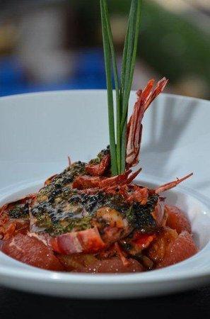 Sofitel Agadir Thalassa Sea & Spa : et enfin des crevettes royale, que du bonheur