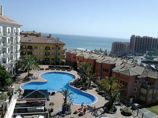 Hotel & Spa Benalmadena Palace : View from our balcony