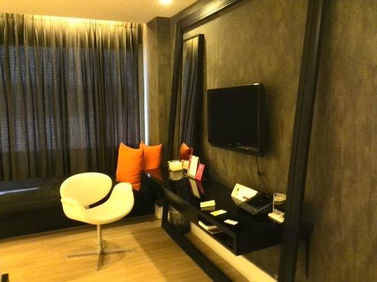 Trinity Silom Hotel: trendy room