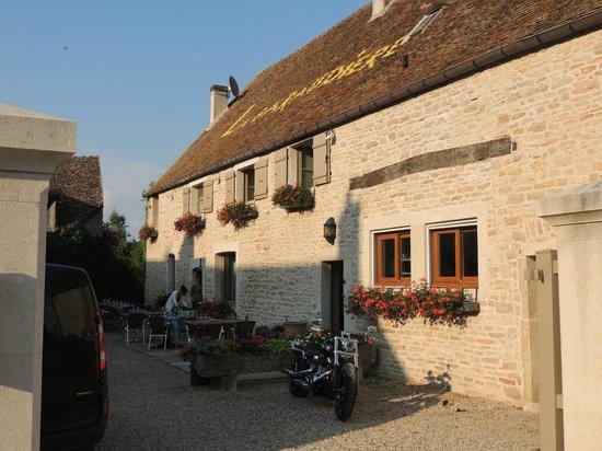 La Garaudière : Внутренний дворик