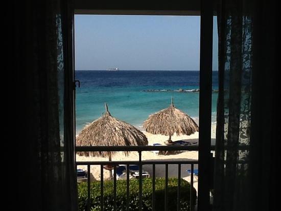 Curacao Marriott Beach Resort & Emerald Casino: vista do quarto - Marriott Curacao
