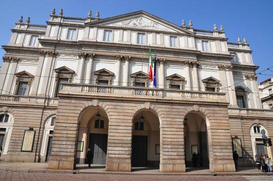 Scala de Milan (Teatro alla Scala) : Teatro alla Scala