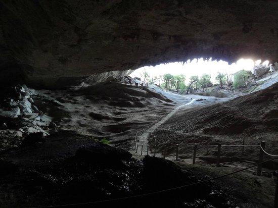 Cueva del Milodón: Dentro da Cueva.