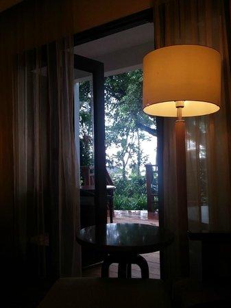 Sheraton Senggigi Beach Resort : View to balkon