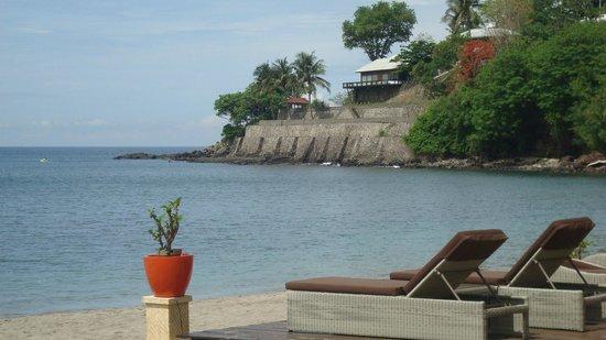 Sheraton Senggigi Beach Resort: Tempat menunggu sunset @ Senggigi