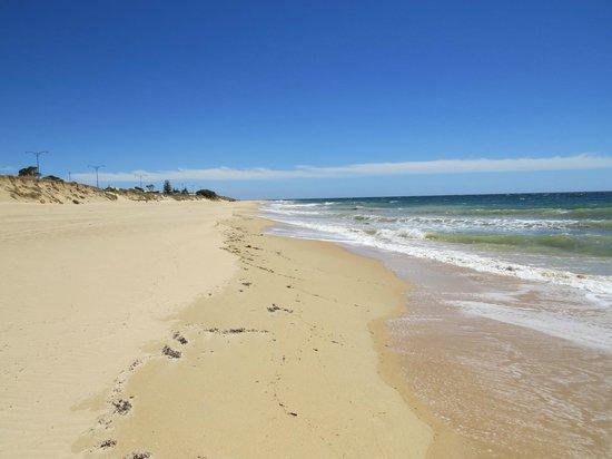 Beach across from Ocean Drive Motel