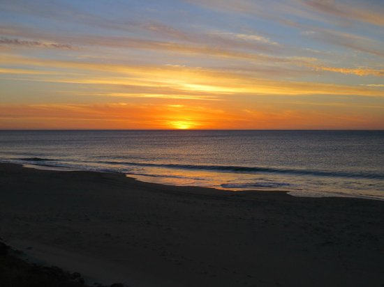 Sunset at Ocean Drive Motel
