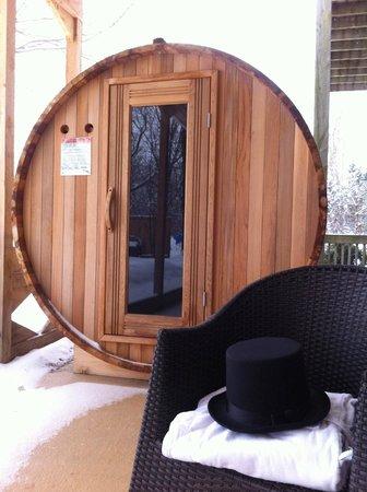 Auberge Nuits de St-Georges: Sauna