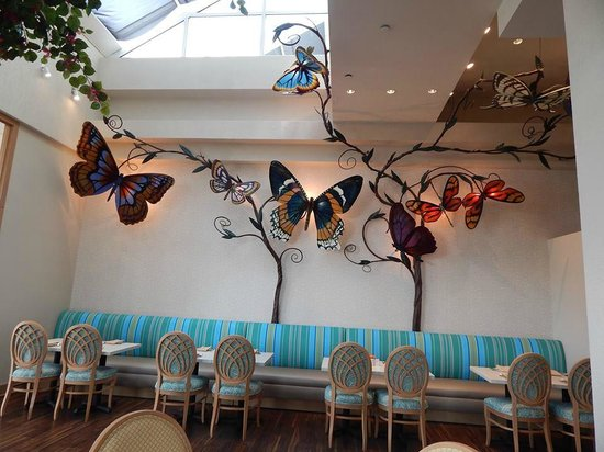 Moody Gardens Hotel Spa & Convention Center: Cafe in the Park