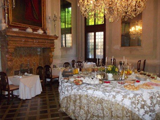 Palazzetto Pisani: breakfast