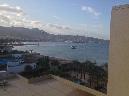 InterContinental Aqaba Resort : View from balcony
