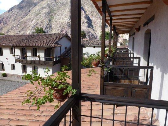 Sonesta Posadas del Inca Yucay : Vista desde el balcón de la habitación