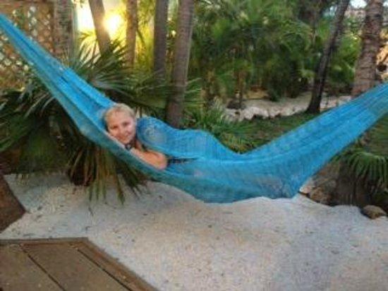 Boardwalk Hotel Aruba: Chilling on the Casita Deck
