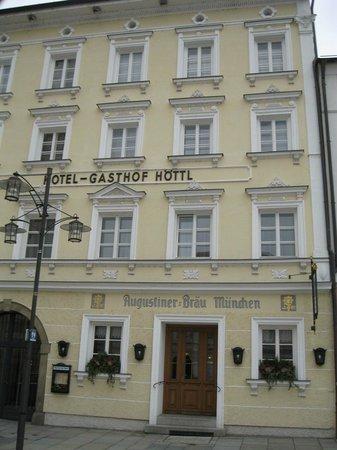 Hotel Gasthof Hottl : facciata hotel